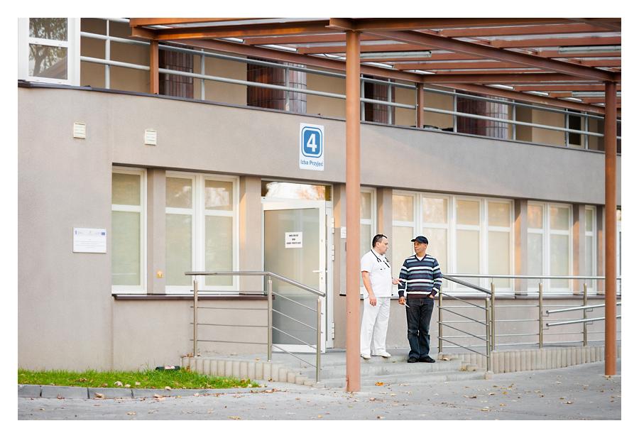 zdjecia reklamowe szpital17 Centrum Pulmonologii i Torakochirurgii w Bystrej