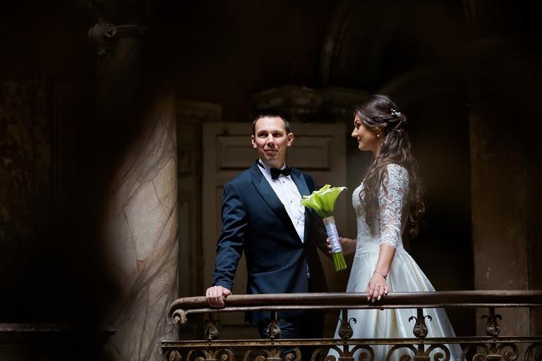 %name Sesja ślubna w opuszczonym pałacu   Gabi & Krzyś