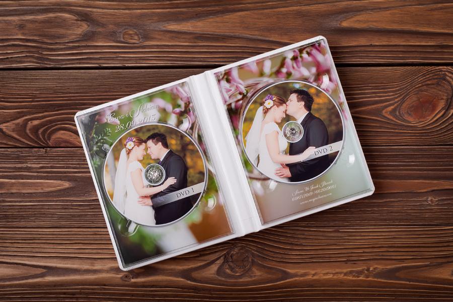 ekskluzywne opakowania dvd 2 Fotoalbumy ślubne, fotoksiążki i inne dodatki