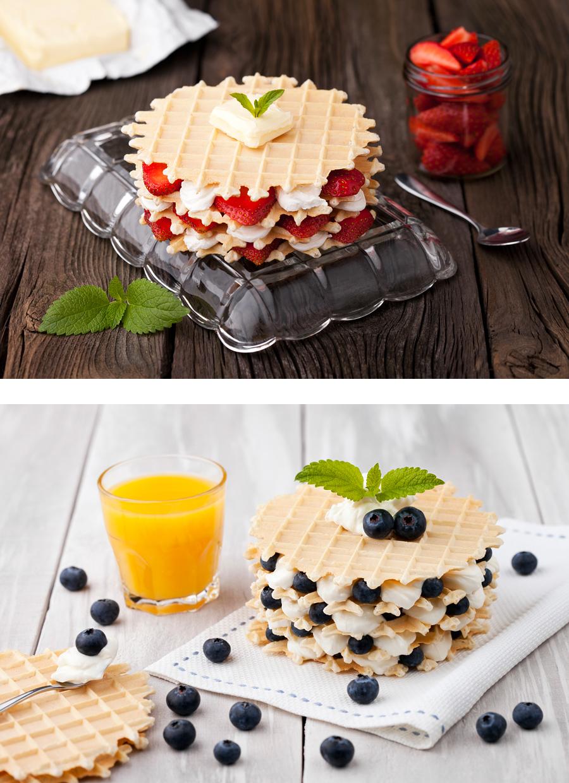 fotografia kulinarna wafle1 Słodkie dylematy : )