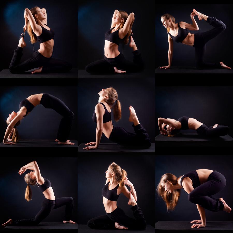 fotografia sportowa joga Joga dobra na wszystko!