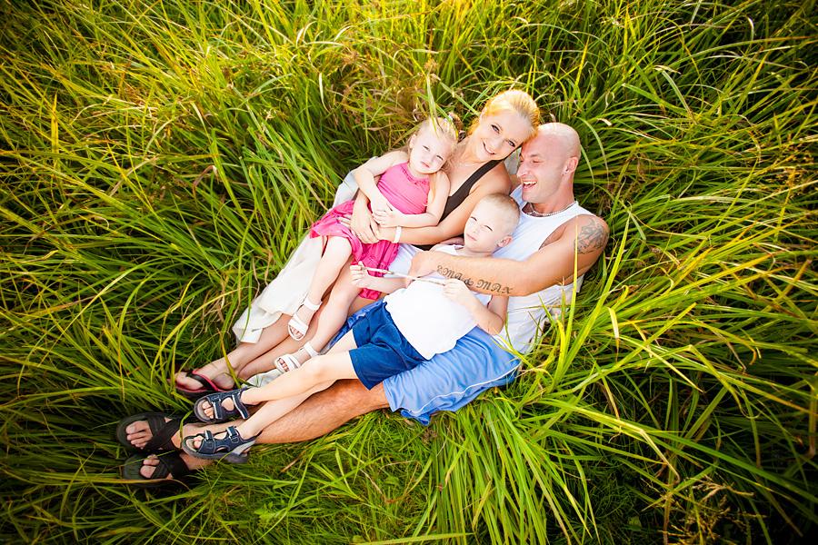 fotografia rodzinna1 Rodzinny wieczór w plenerze