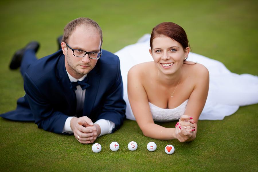 plener na polu golfowym zapowiedz1 Plener ślubny Jagody i Sebastiana na polu golfowym   zapowiedź : )