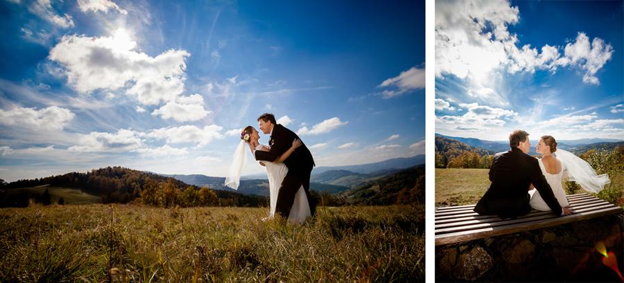 plener slubny krynica 2 Krajoznawczy plener z Ewą i Adrianem : )   fotografia ślubna Krynica