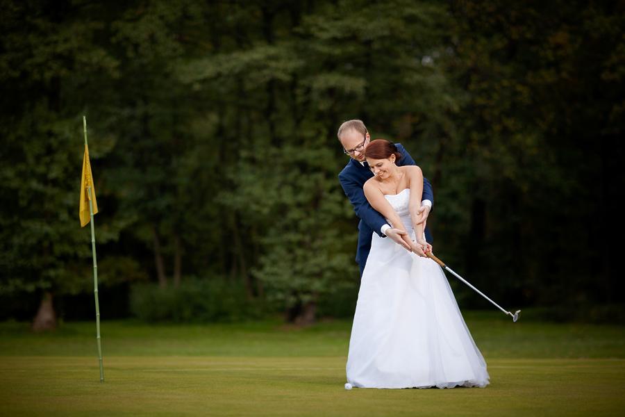 plener slubny na polu golfowym 2 Plener ślubny Jagody i Sebastiana na polu golfowym