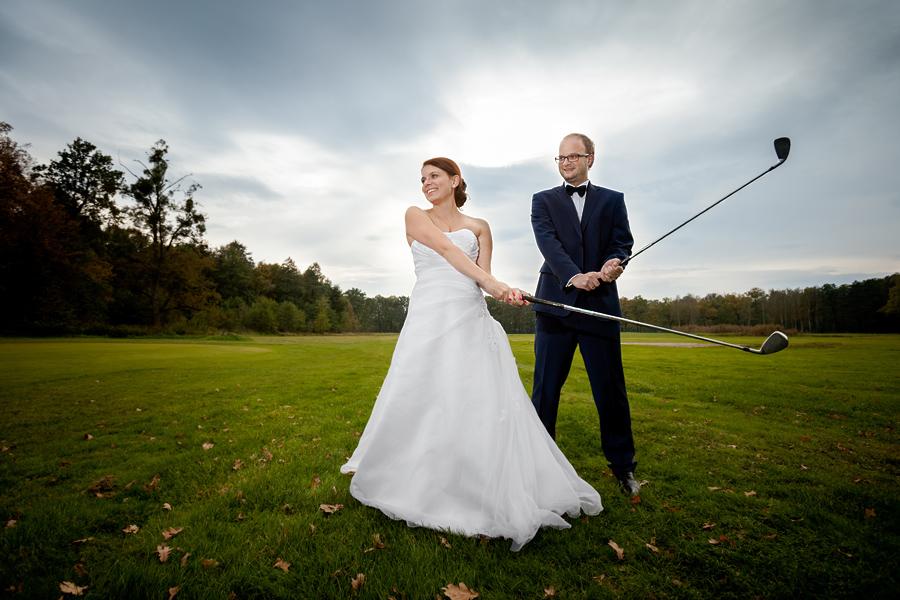 plener slubny na polu golfowym 4 Plener ślubny Jagody i Sebastiana na polu golfowym
