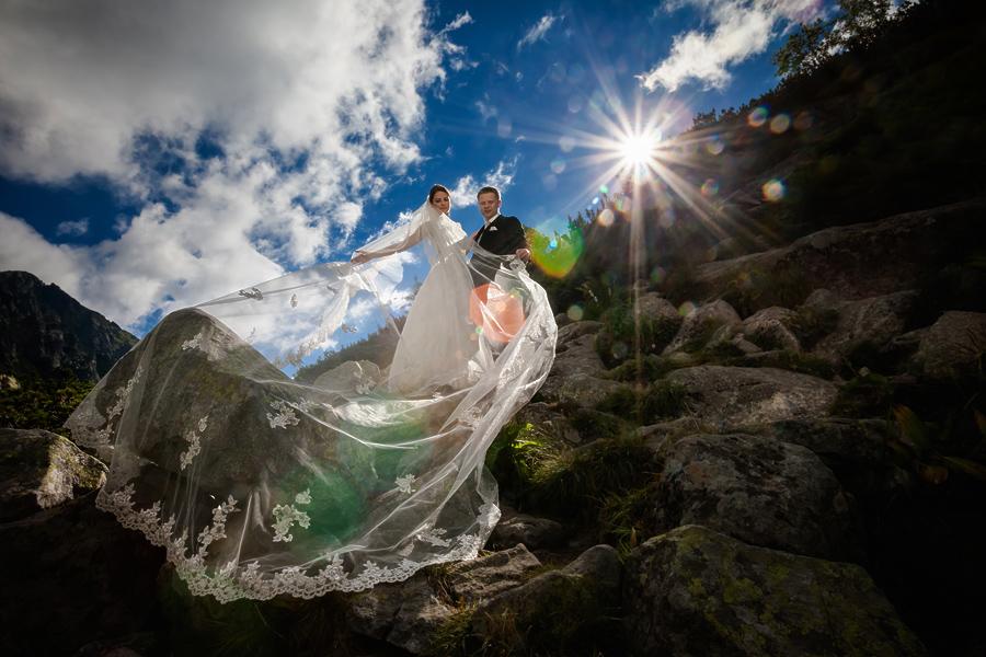 plener slubny w tatrach kp4 Kasia i Przemek   plener ślubny w Tatrach