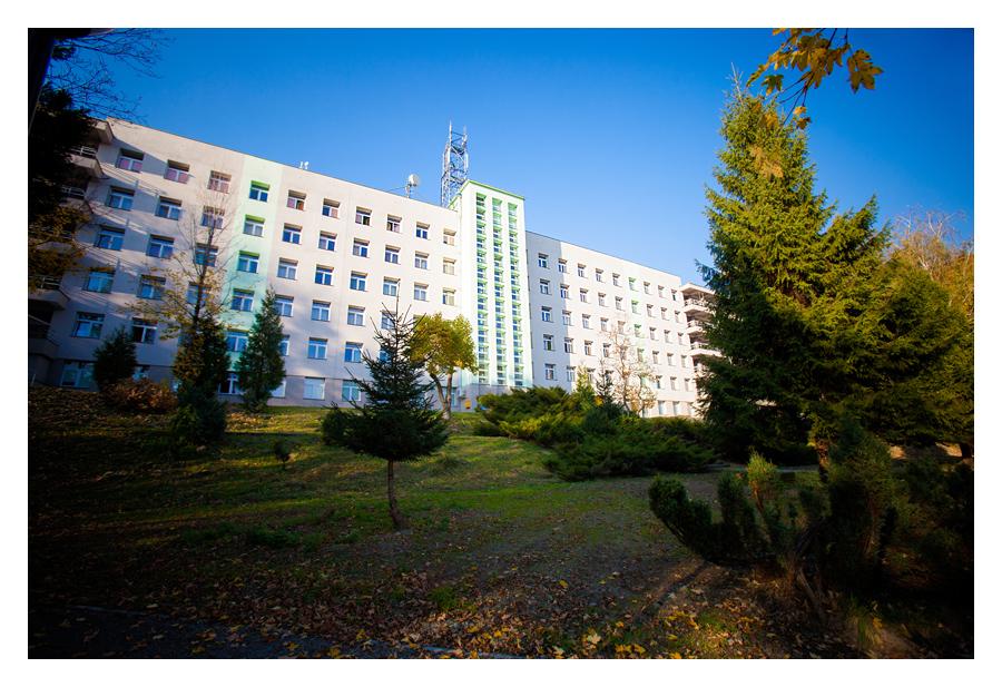 zdjecia reklamowe szpital4 Centrum Pulmonologii i Torakochirurgii w Bystrej