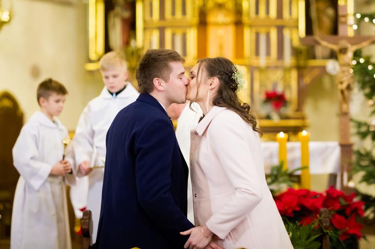 slub w kobiorze(pp w768 h511) Ania i Łukasz   wesele w Pszczynie   zapowiedź