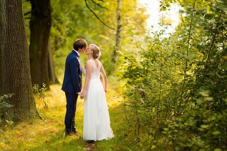 plener slubny w lesie slask 16(pp w768 h512) Plener ślubny w Lesie   Małgosia i Marcin