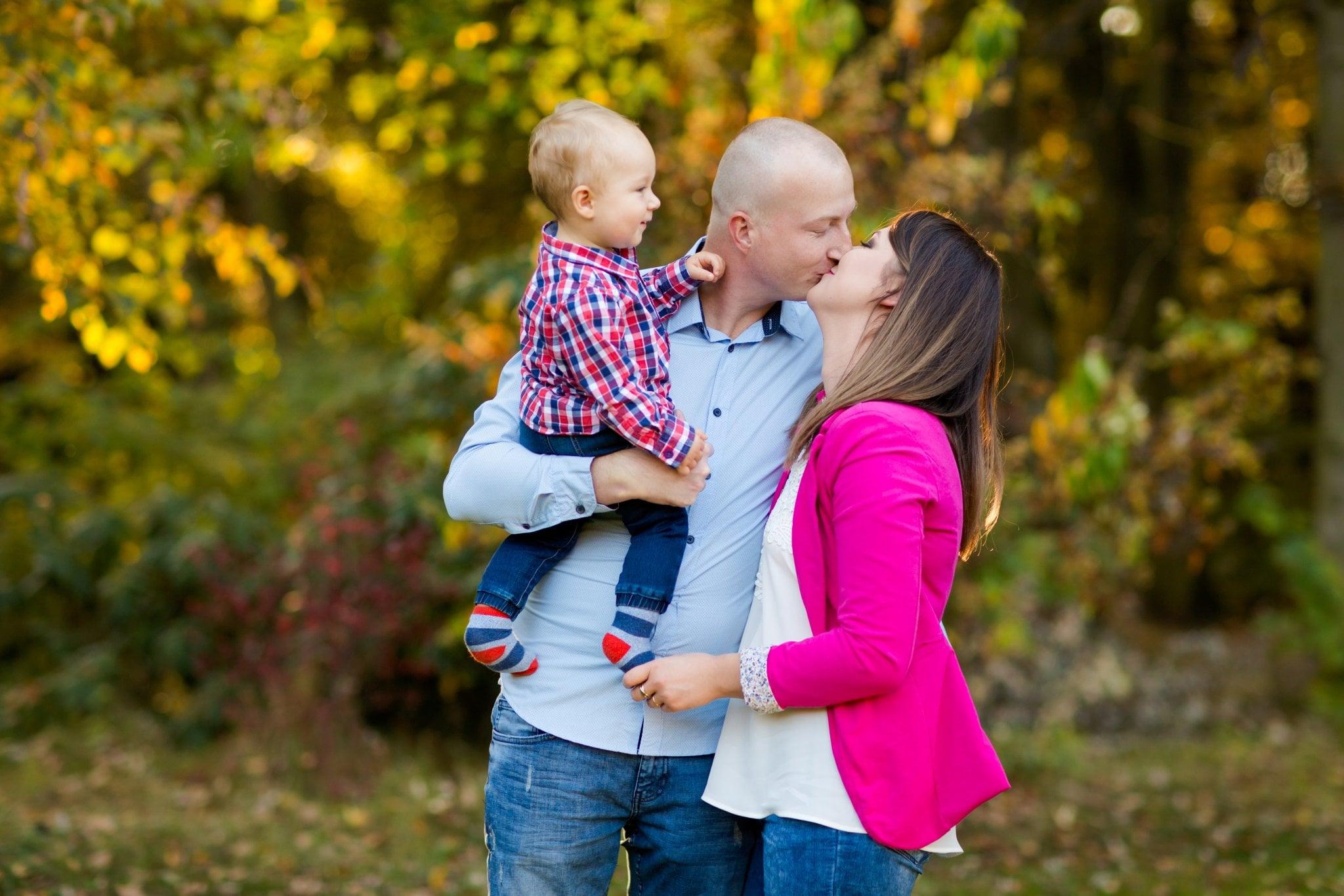 fotografia rodzinna pszczyna 04 Jesienna sesja rodzinna w parku