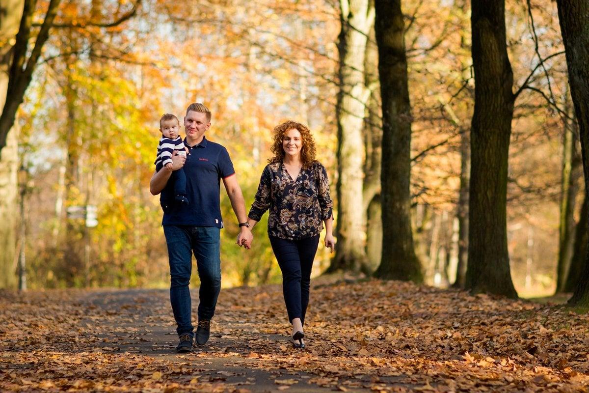 jesienna sesja rodzinna fotograf pszczyna 06m Jesienna sesja rodzinna