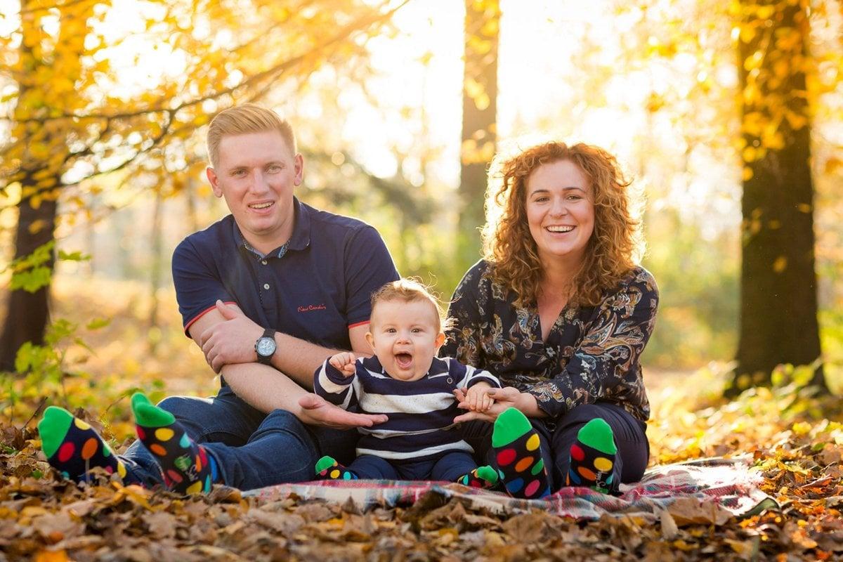 jesienna sesja rodzinna fotograf pszczyna 15m Jesienna sesja rodzinna