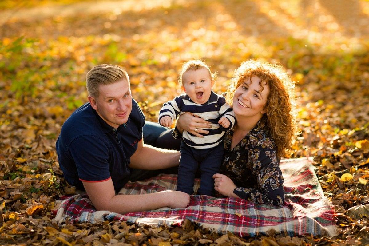 jesienna sesja rodzinna fotograf pszczyna 17m Jesienna sesja rodzinna