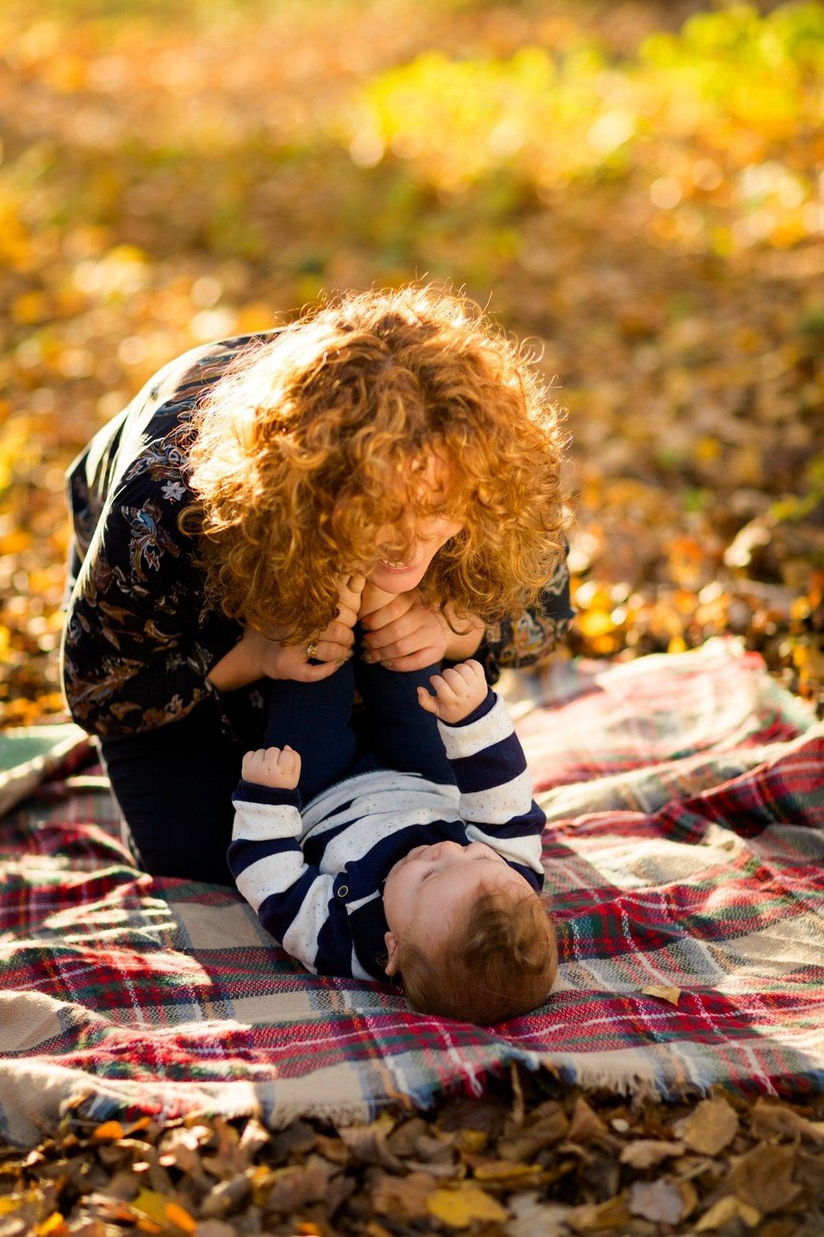 jesienna sesja rodzinna fotograf pszczyna 18m Jesienna sesja rodzinna
