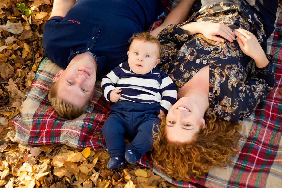 jesienna sesja rodzinna fotograf pszczyna 20m Jesienna sesja rodzinna