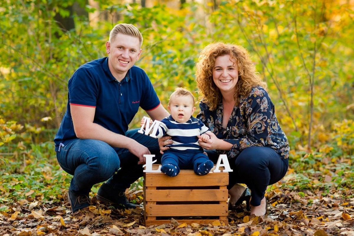 jesienna sesja rodzinna fotograf pszczyna 24m Jesienna sesja rodzinna