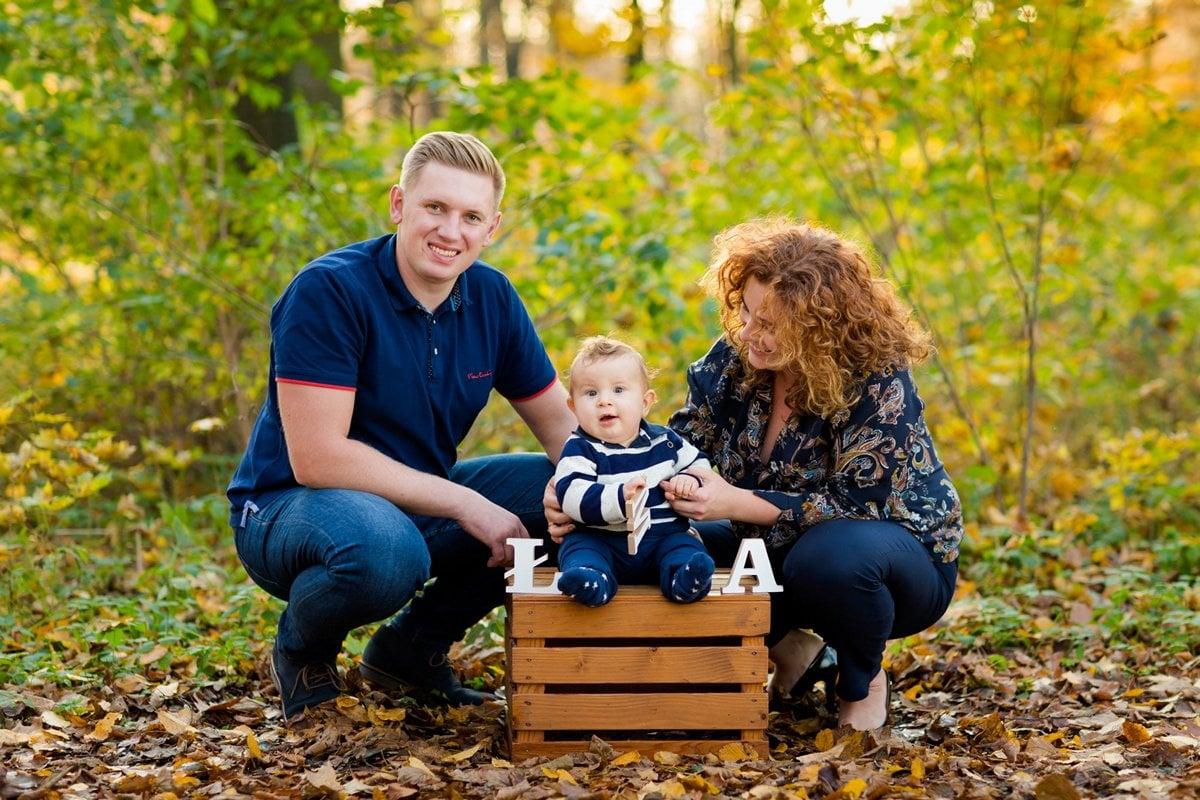 jesienna sesja rodzinna fotograf pszczyna 25m Jesienna sesja rodzinna