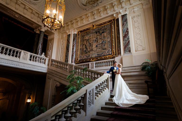sesja w palacu w pszczynie(pp w768 h511) Sesja ślubna w Pałacu   Asia Karol   zapowiedź