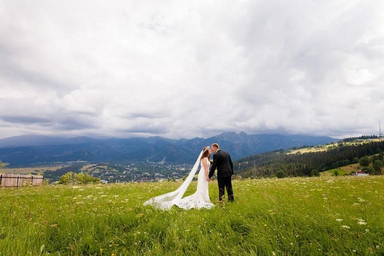 deszczowa sesja slubna w tatrach 1(pp w768 h512) Sesja ślubna w Tatrach   Ania i Łukasz