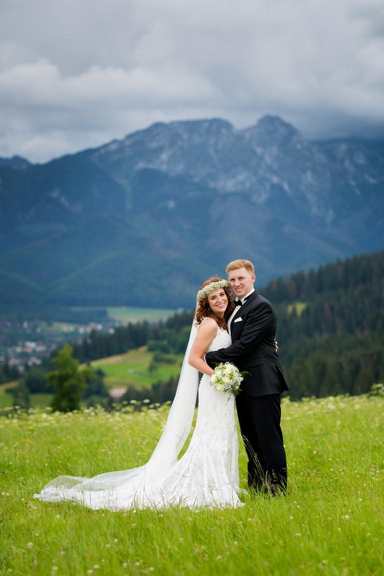 deszczowa sesja slubna w tatrach 2(pp w768 h1152) Sesja ślubna w Tatrach   Ania i Łukasz
