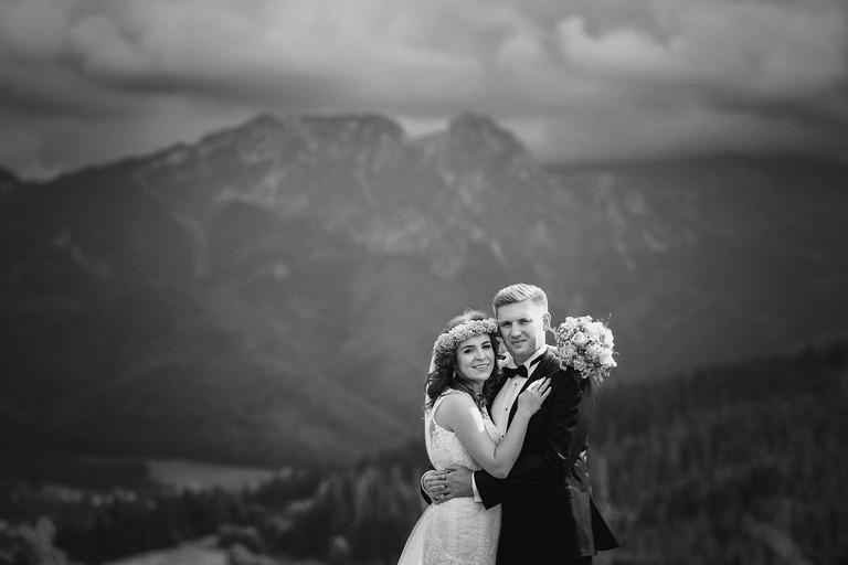 deszczowa sesja slubna w tatrach 3(pp w768 h512) Sesja ślubna w Tatrach   Ania i Łukasz