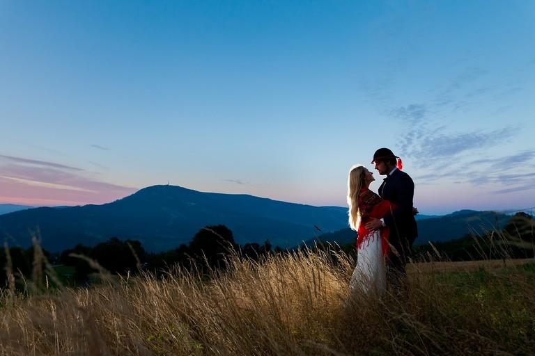sesja slubna w beskidach 1(pp w768 h512) Sesja ślubna w górach   Magda & Rafael