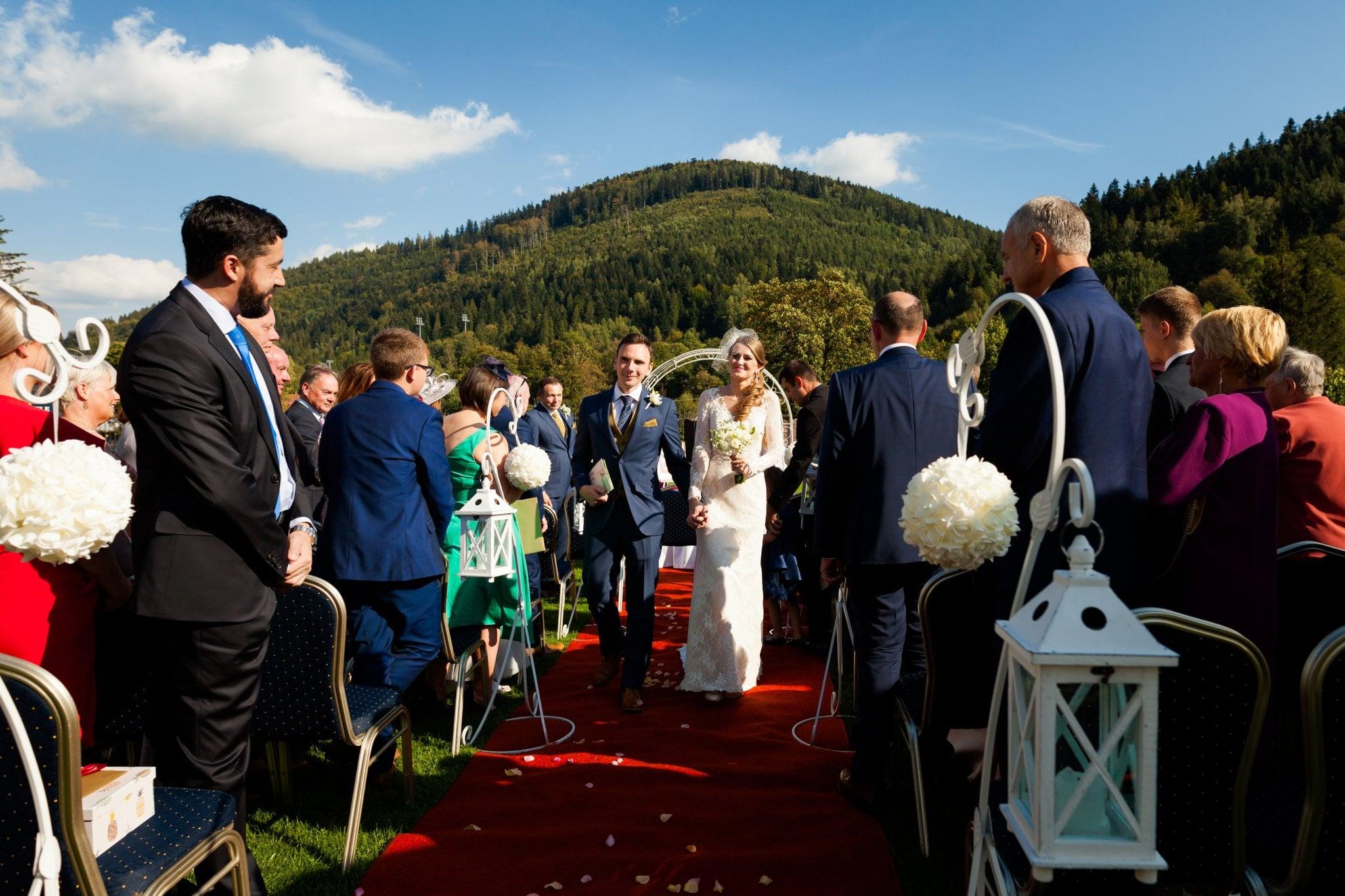 wesele w szczyrku slub plenerowy 36 Ślub i wesele w Szczyrku   Joanna & Marc
