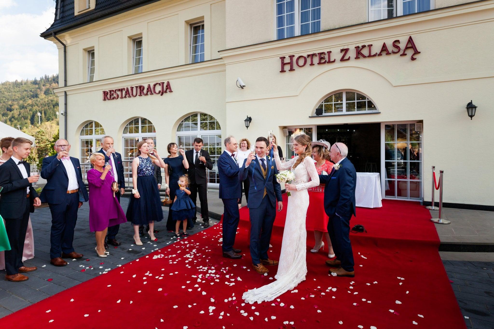 wesele w szczyrku slub plenerowy 39 Ślub i wesele w Szczyrku   Joanna & Marc